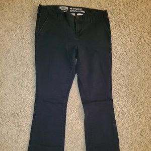 Women's Mossimo Black Pants, sz 6